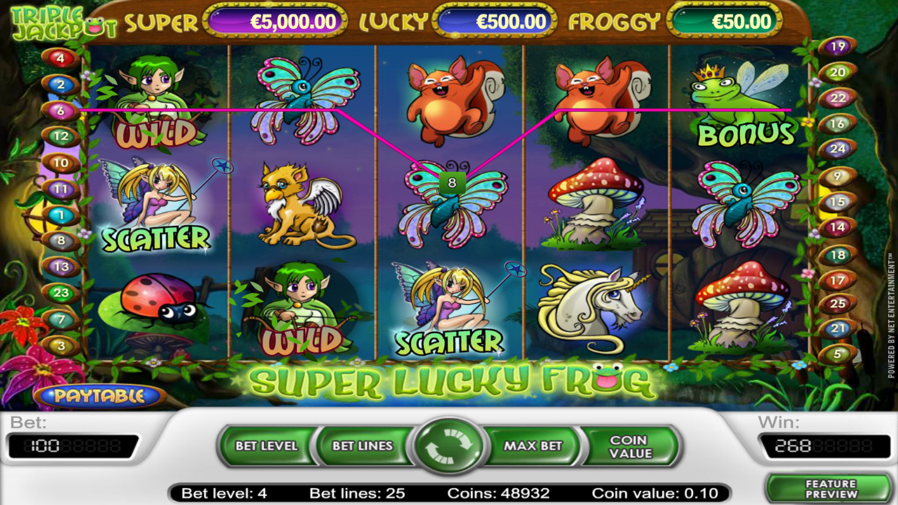 Super Lucky Frog 4