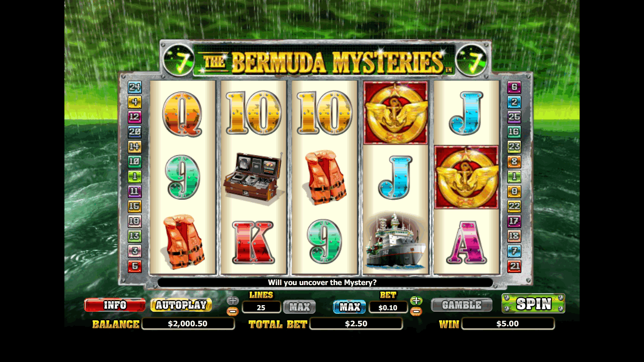 The Bermuda Mysteries 7