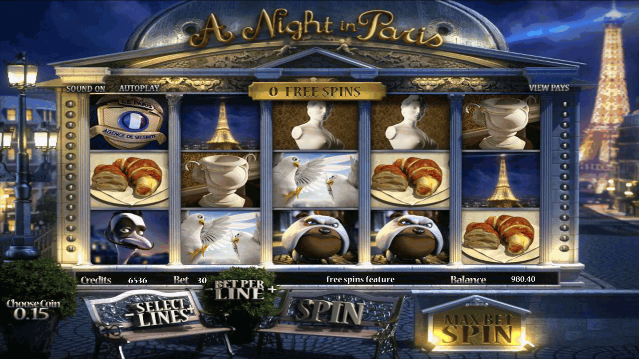 A Night In Paris 7